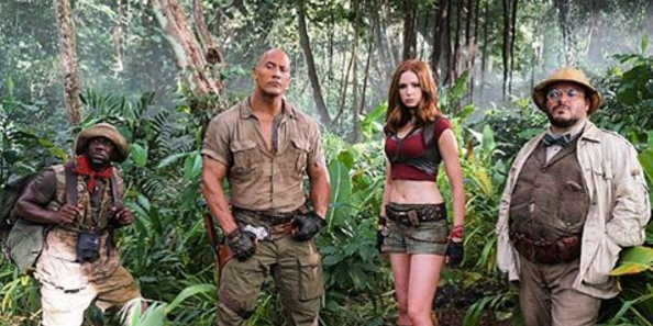 Jumanji 2 : Official Hindi Trailer # 1 - Dubbed By Me