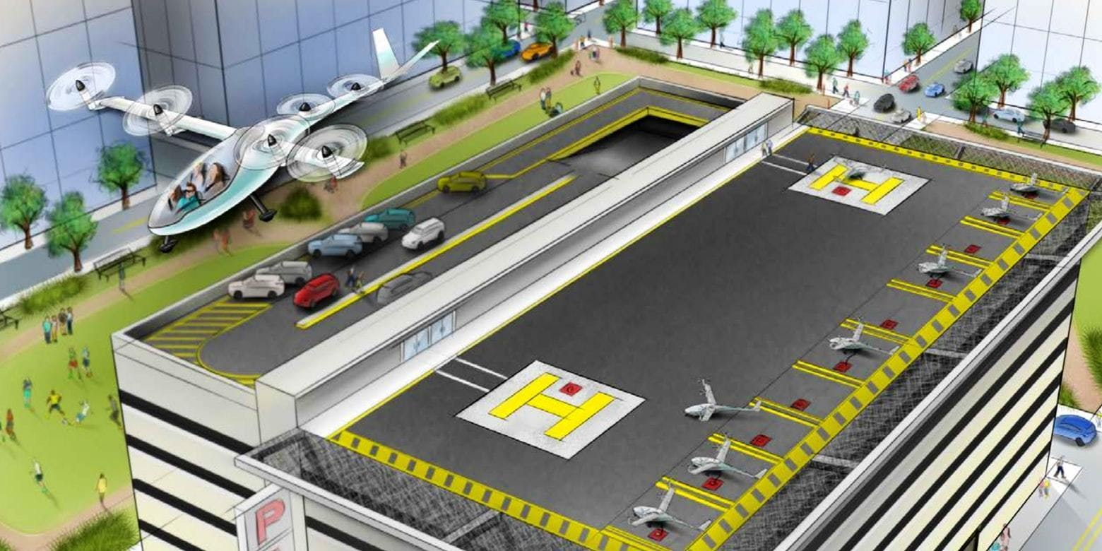 Actually, Uber's Totally Crazy Flying Car Plan is Remarkable