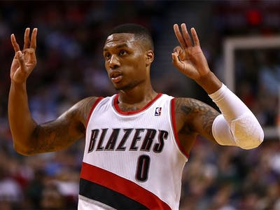 Damian Lillard Is the First NBA Player to Drop a Good Album