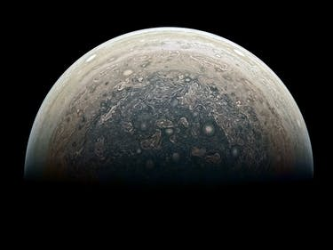 Juno Drops the First Images of Jupiter's South Pole
