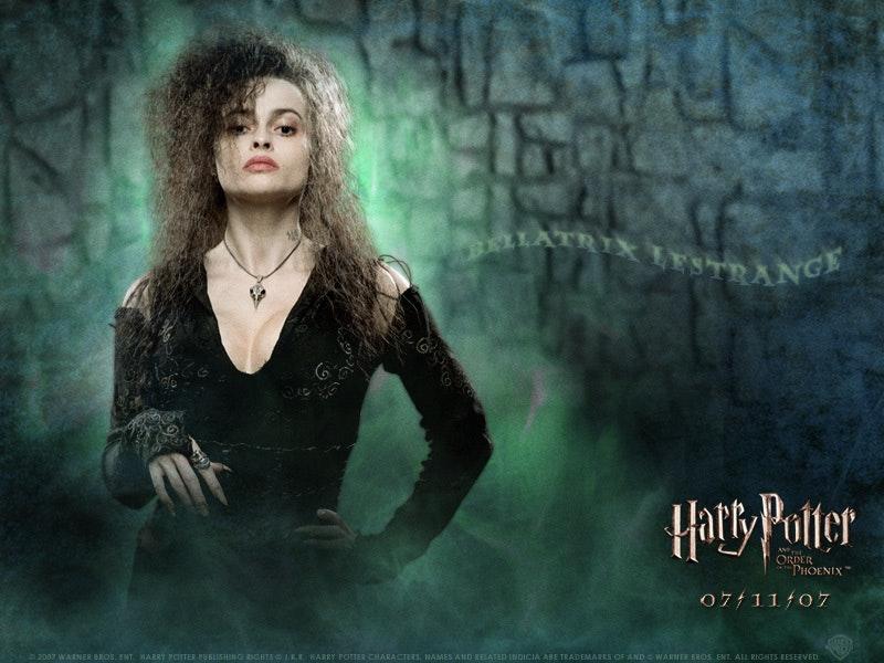 Helena as Bellatrix Lestrange