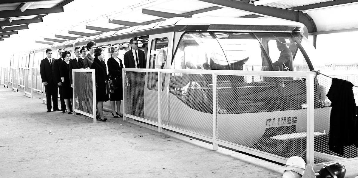 World's Fair monorail, 1962