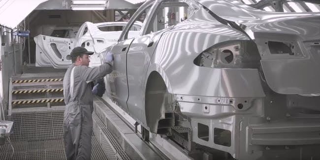 Tesla Factory Worker