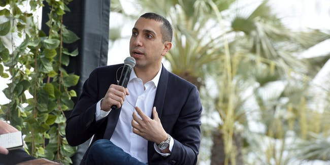 LOS ANGELES, CA - MAY 25:  Sean Rad, CEO of Tinder speaks at Fast Company Creativity Counter-Conference 2016 on May 24, 2016 in Los Angeles, California.  (Photo by Vivien Killilea/Getty Images for Fast Company)
