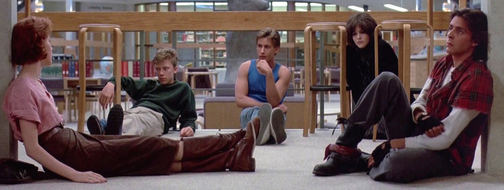 film analysis the breakfast club