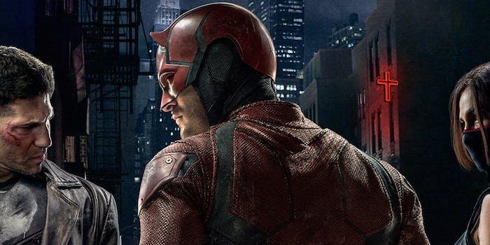 Marvel Punisher Daredevil Elektra