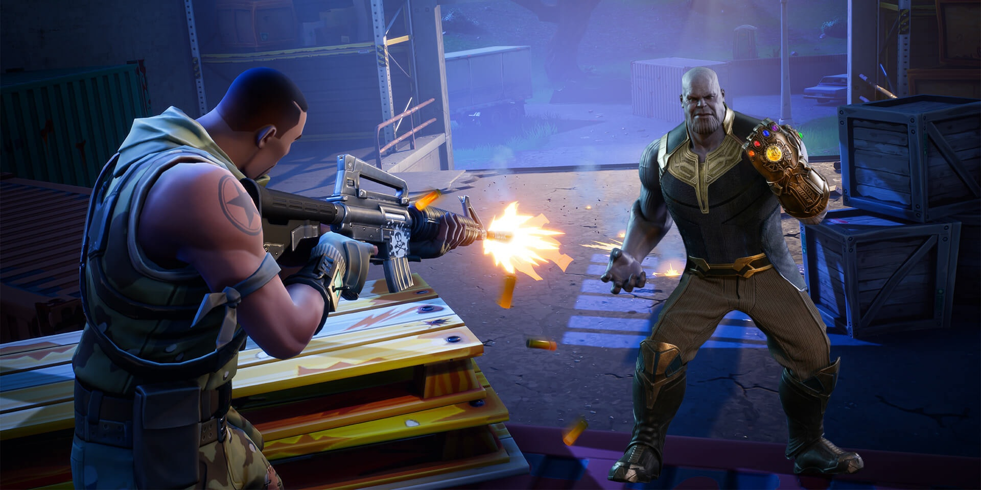 Fortnite And Avengers Infinity War To Get Insane Crossover Game