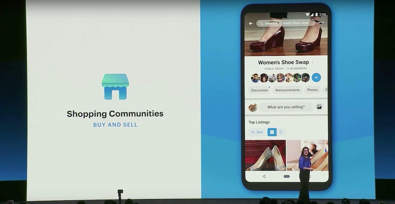 facebook f8 developers conference marketplace update