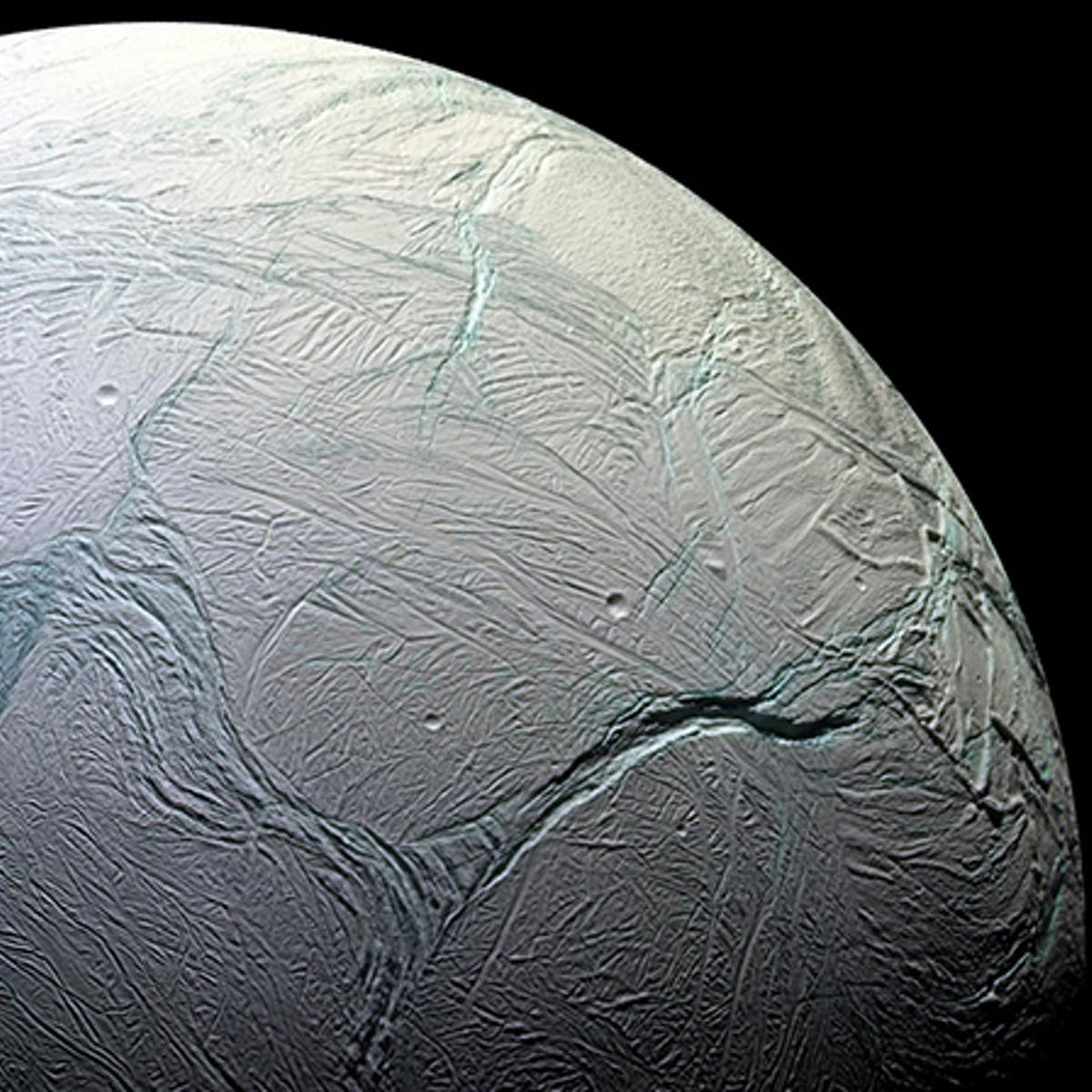 Scientists uncover the strange tale of how Enceladus got its stripes