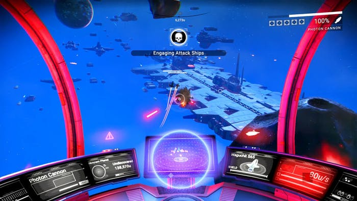 The new space flighting interface.
