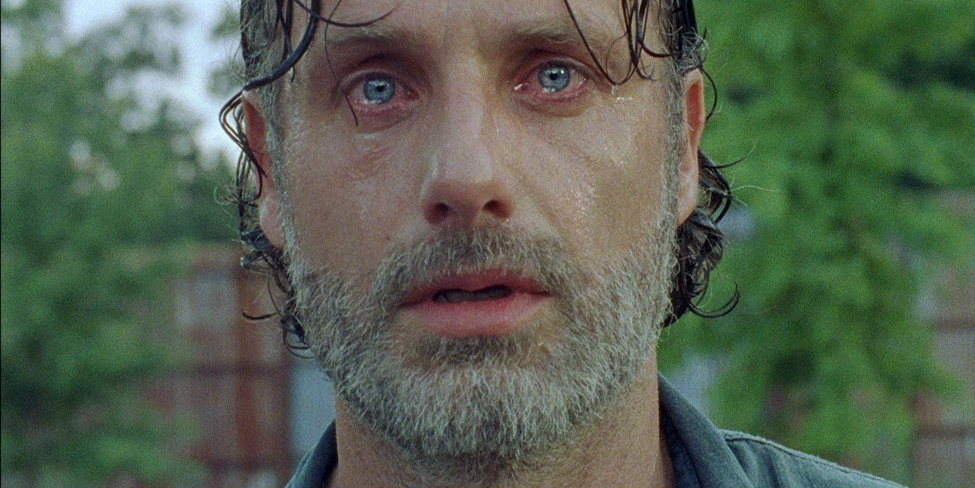 The Walking Dead makes Rick sad