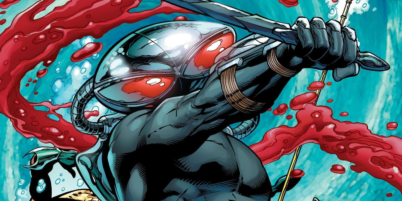 Black Manta as he appears on the cover of 'Aquaman Vol .7' #23.1