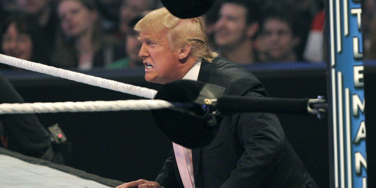 WrestleMania Trump