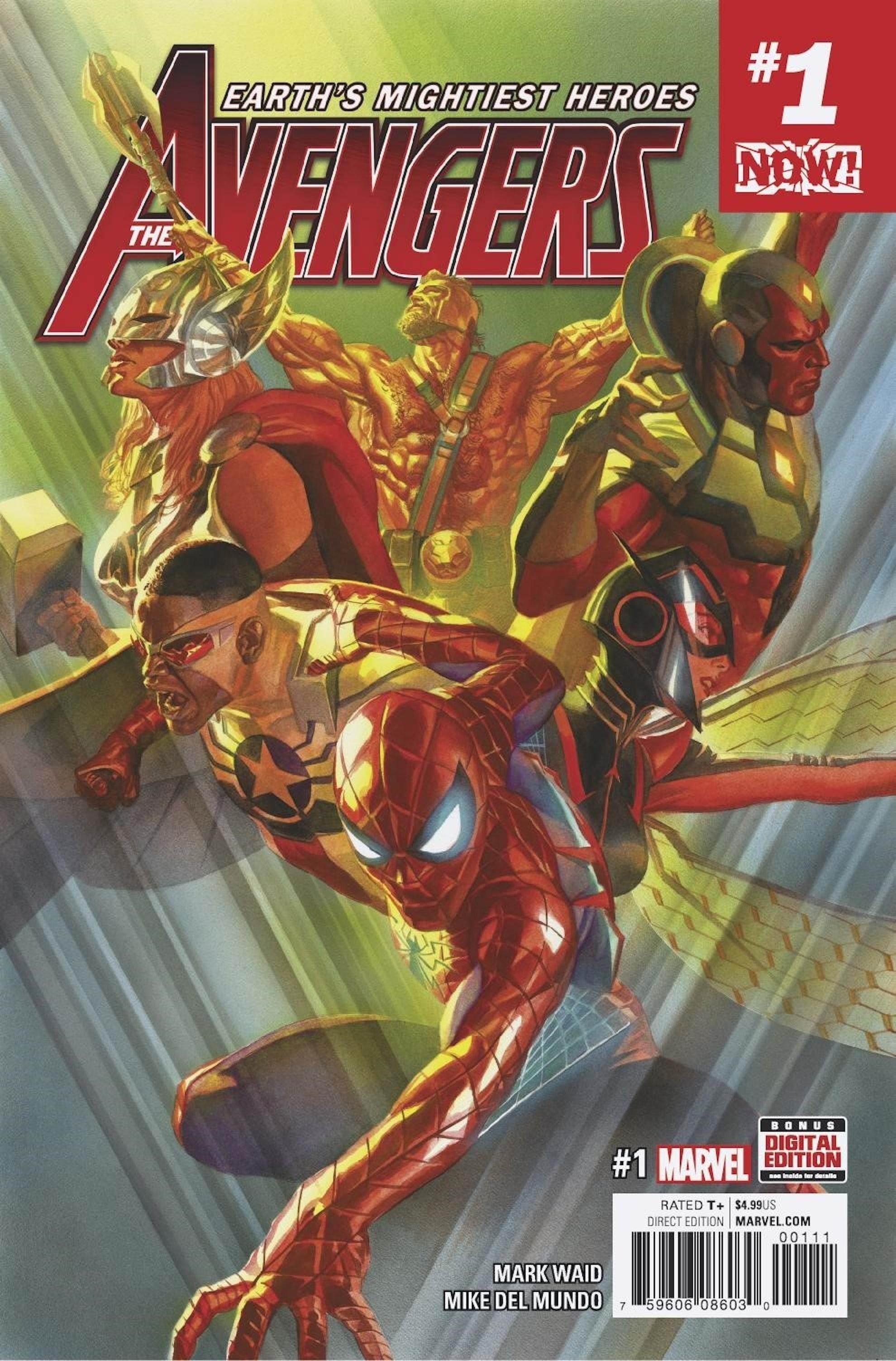 Marvel NOW! Alex Ross Marvel Avengers