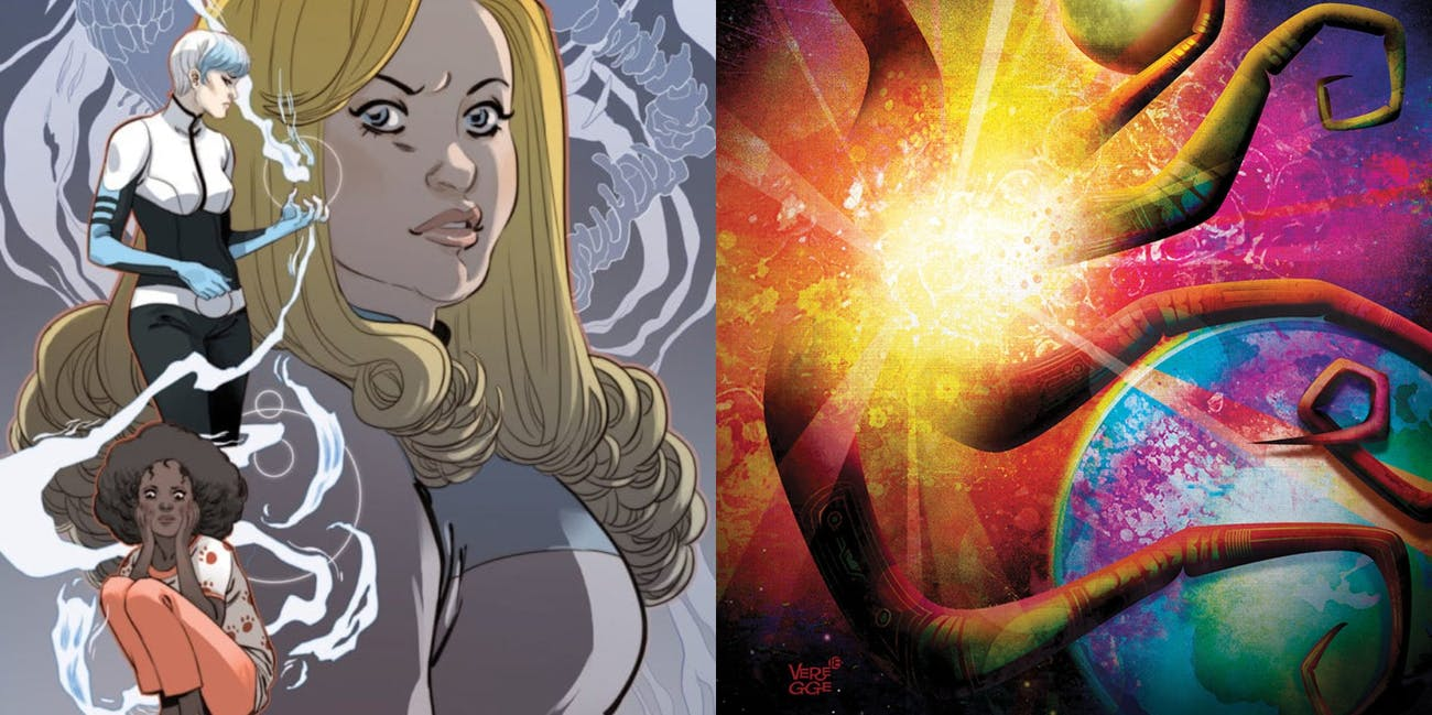 Valiant Comics 'Faith: Dreamside' and 'Incursion'