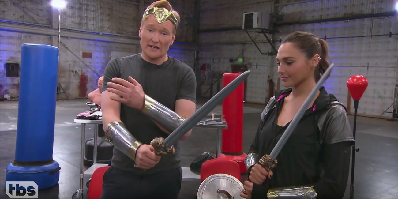 Conan Wonder Woman