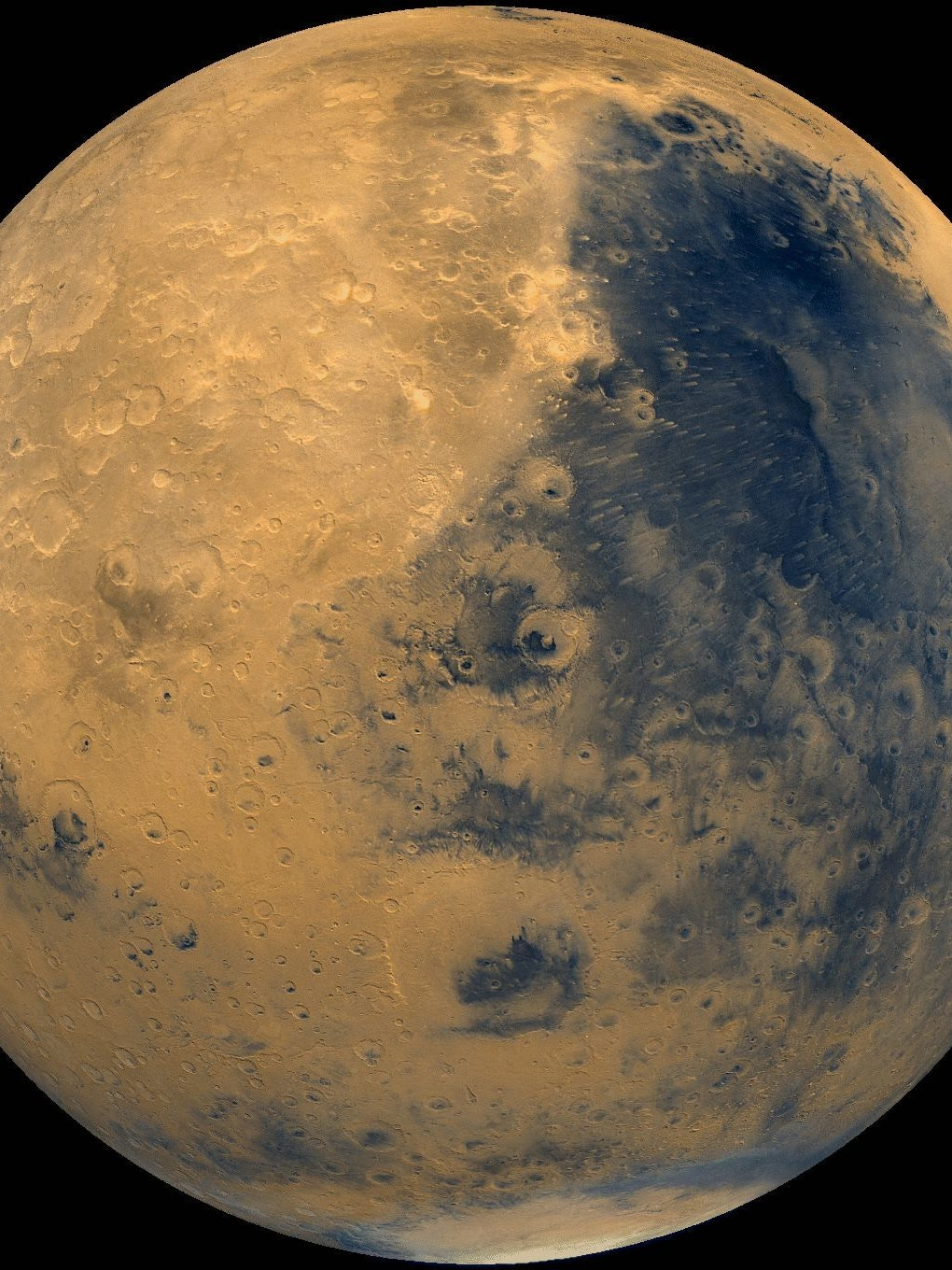 A 2003 image of Mars.