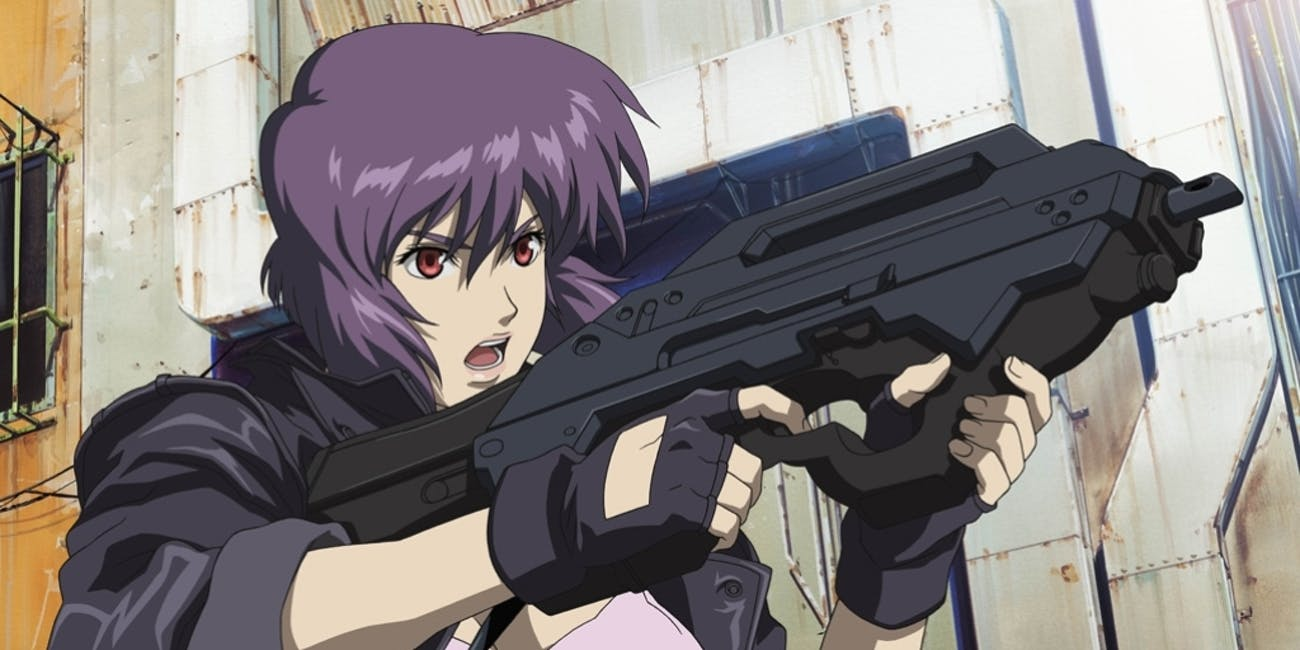 "Motoko Kusanagi or ""Major"" in 'Ghost in the Shell'"