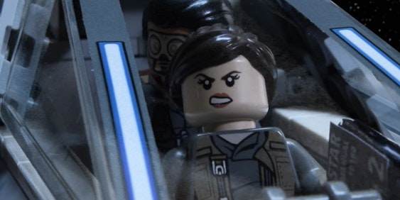 Lego Jyn Erso is excellent at adapting to increasingly dire situations