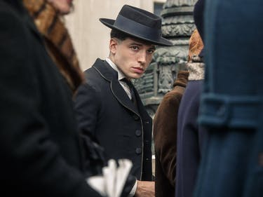 Ezra Miller as Credence Barebone in 'Fantastic Beasts and Where to Find Them'
