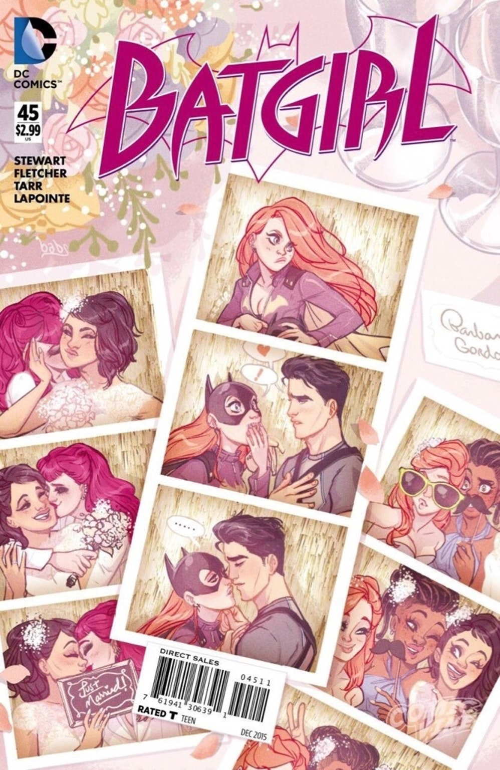 'Batgirl' #45 Cover