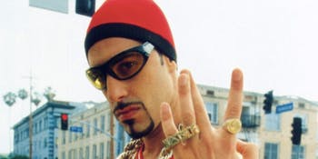 "Sacha Baron Cohen as ""Ali G"""