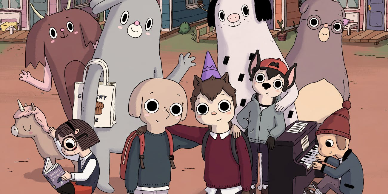 Summer Camp Island' Cures Homesickness With Witches, Yetis, and