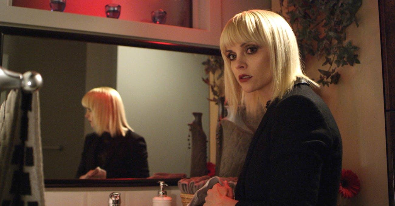 Christina Ricci in 'Distorted'.
