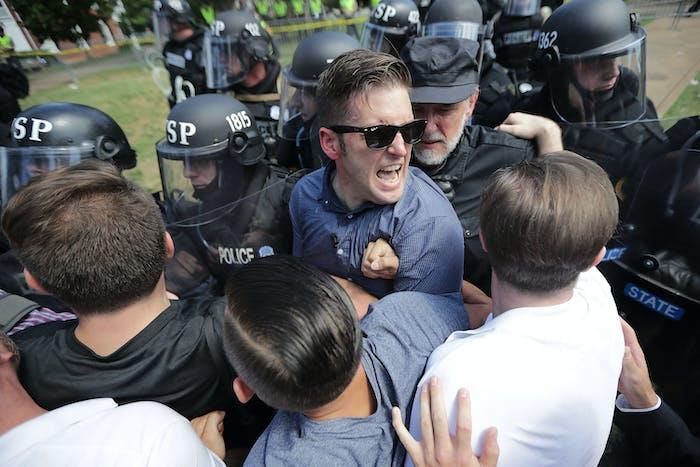 charlottesville richard spencer white supremacist alt right fascist black racist racism