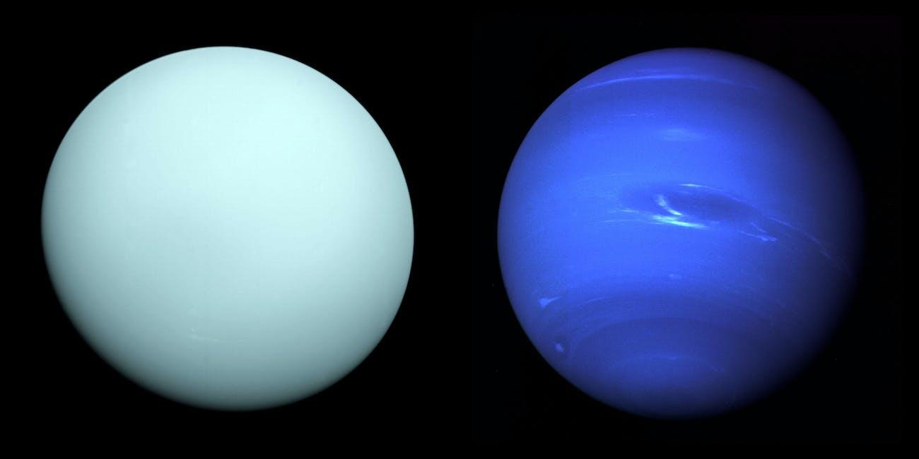 Neptune Uranus Voyager