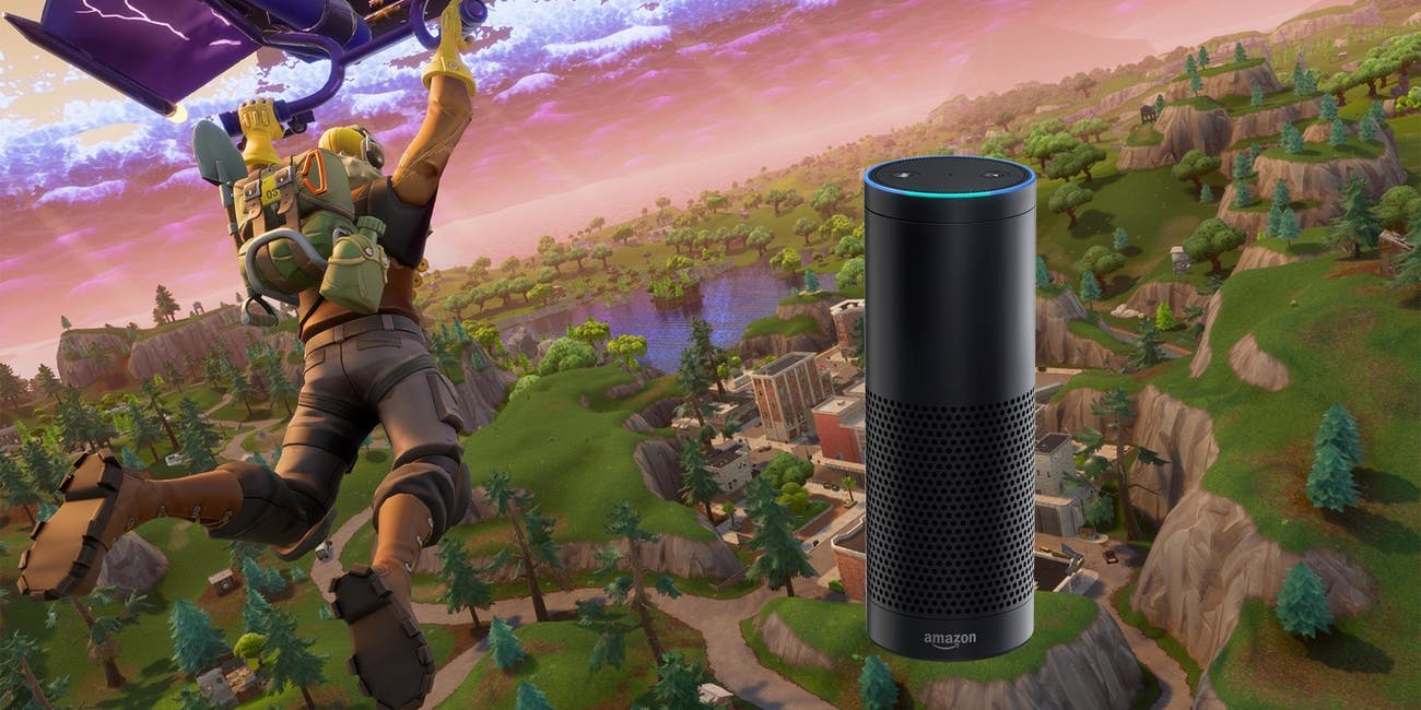 Now you can chat with Alexa about where to land in 'Fortnite: Battle Royale'.