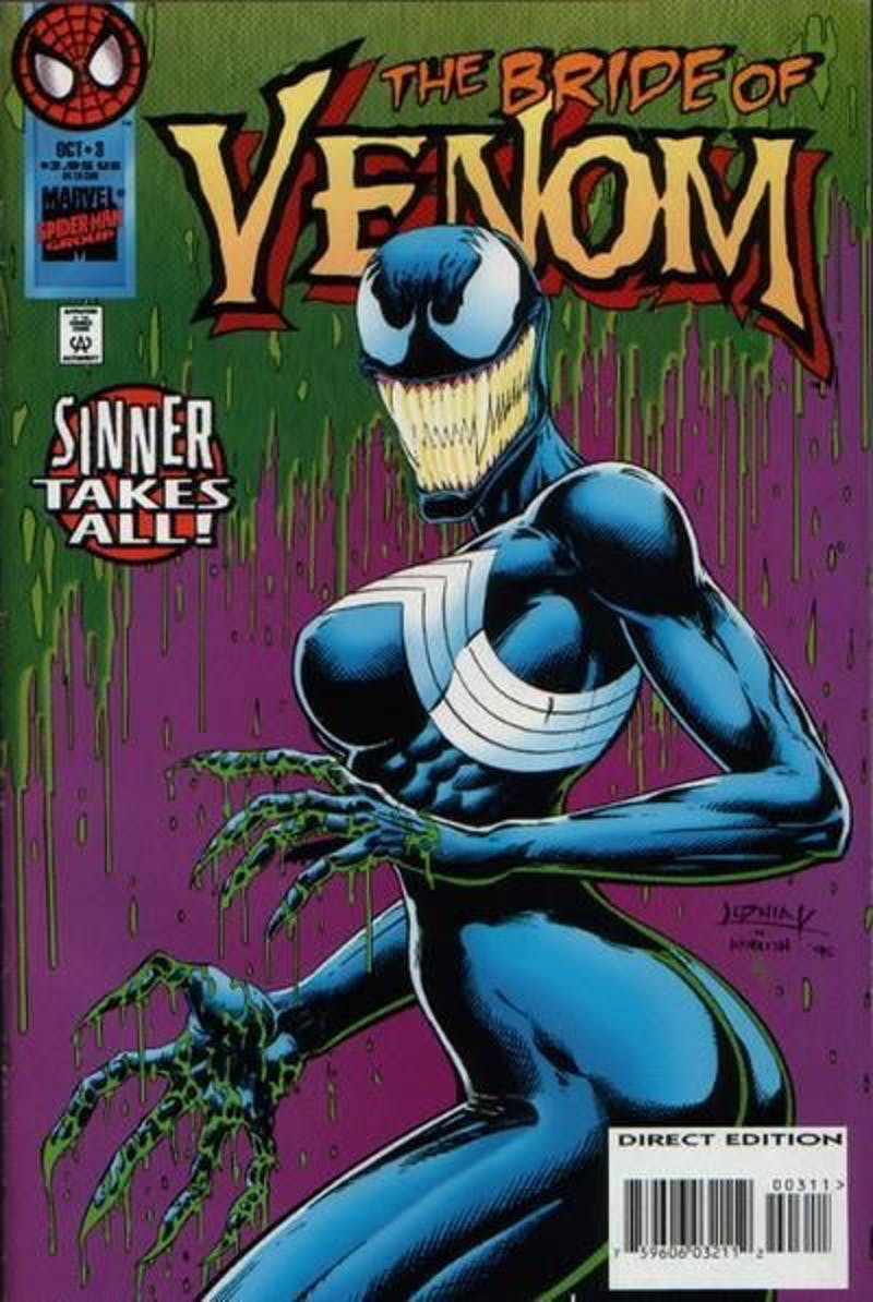 She-Venom Bride of Venom Anne Weying