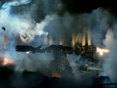 Watch a Transformer Shoot Up Some Nazis in 'Last Knight' Teaser