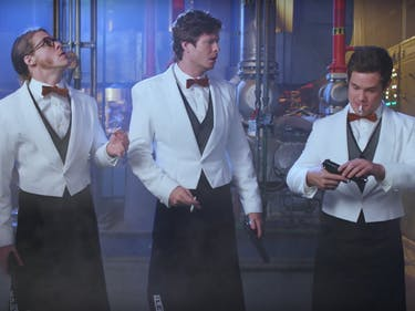 The 'Workaholics' Crew Light Up in Teaser for 'Game Over, Man!'