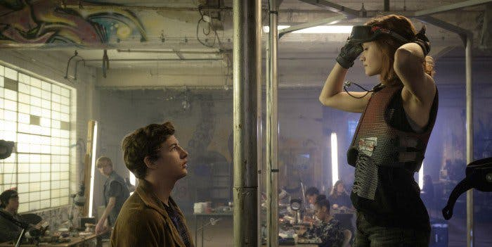 VR is everywhere in 'Ready Player One'.