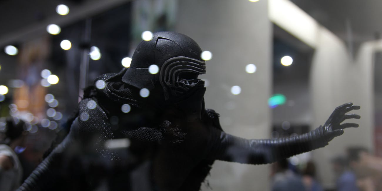 SDCC 2017 - Sideshow Collectible's Booth - Kylo Ren