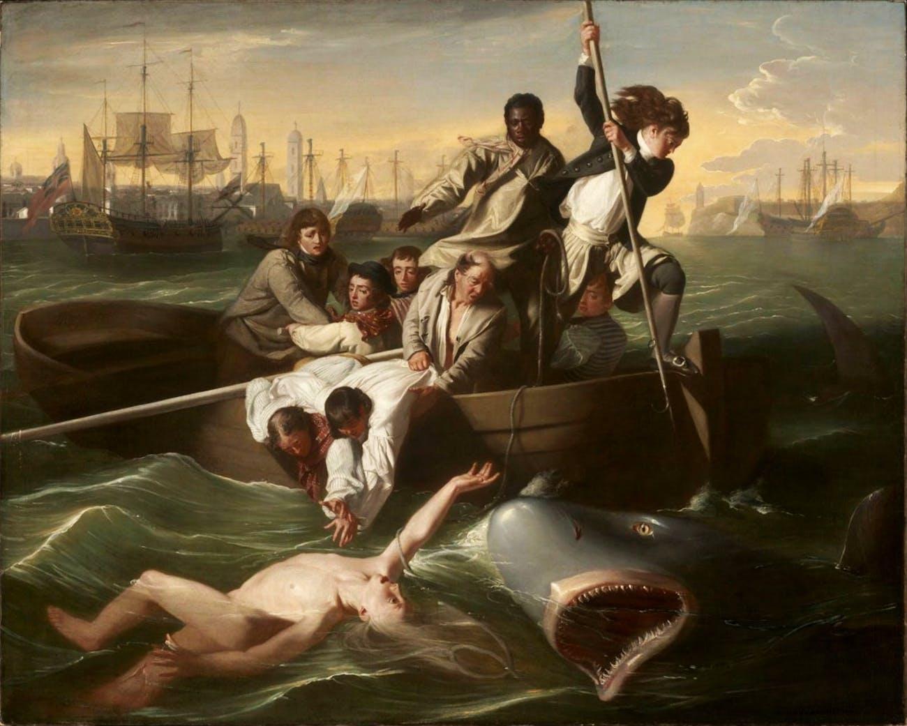 John Singleton Copley Watson and the Shark