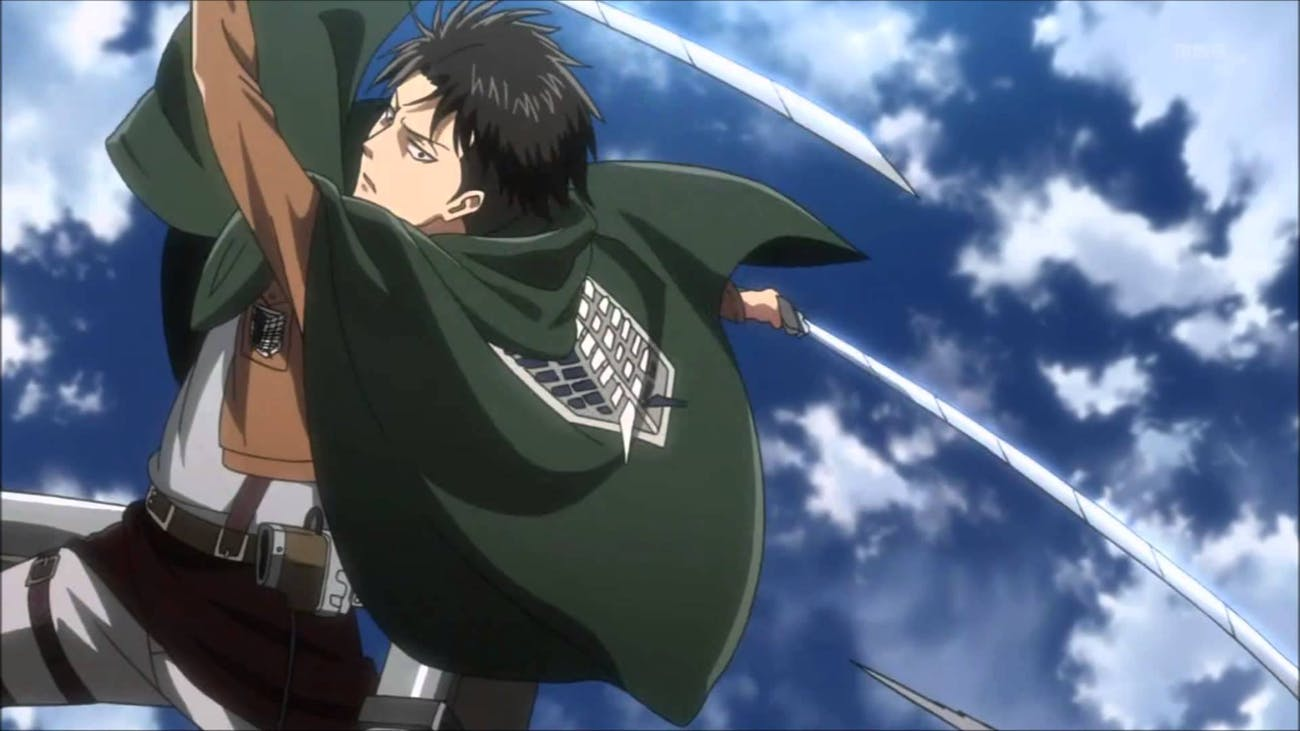 Captain Levi is the GOAT in 'Attack on Titan.'