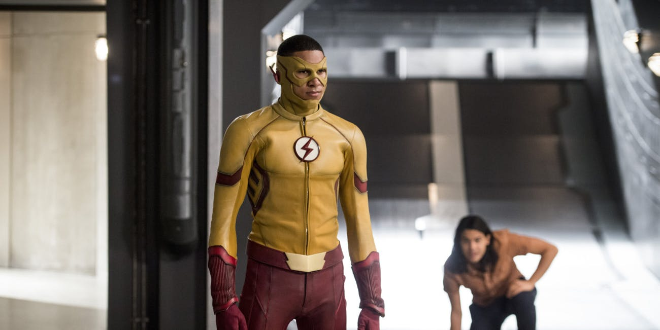 Wally West is Savitar in 'The Flash'