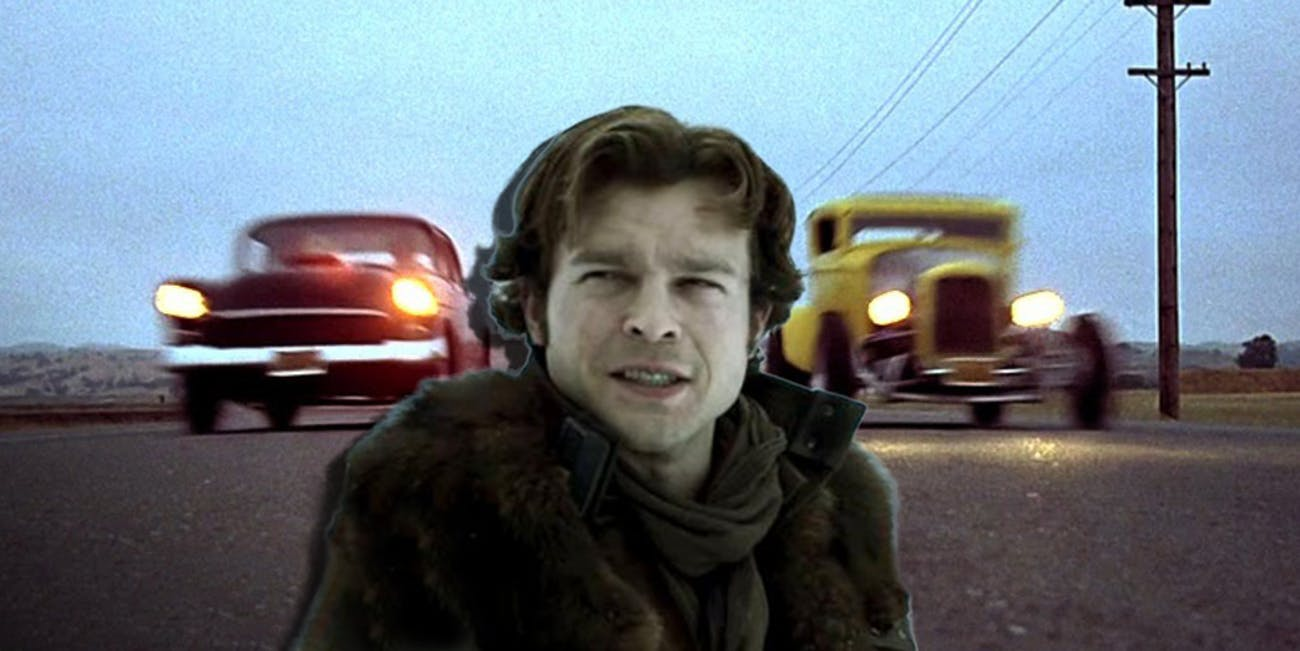 Young Han Solo and 'American Graffiti'