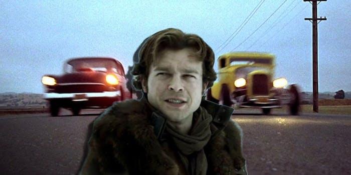 Young Han Solo and 'American Graffiti'