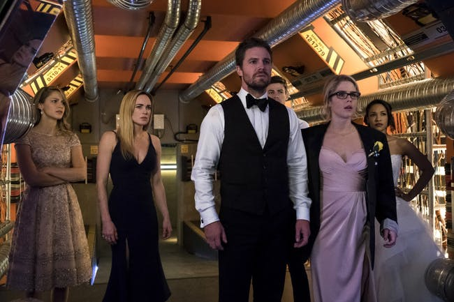 Crisis on Earth-X Arrowverse Tommy Merlyn