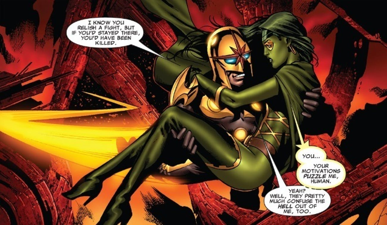 Heres Why Star-Lord and Gamora Wont Get Together in