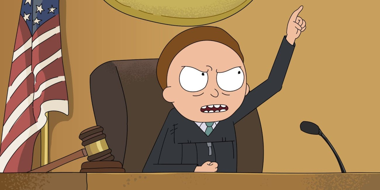 rick and morty court transcript