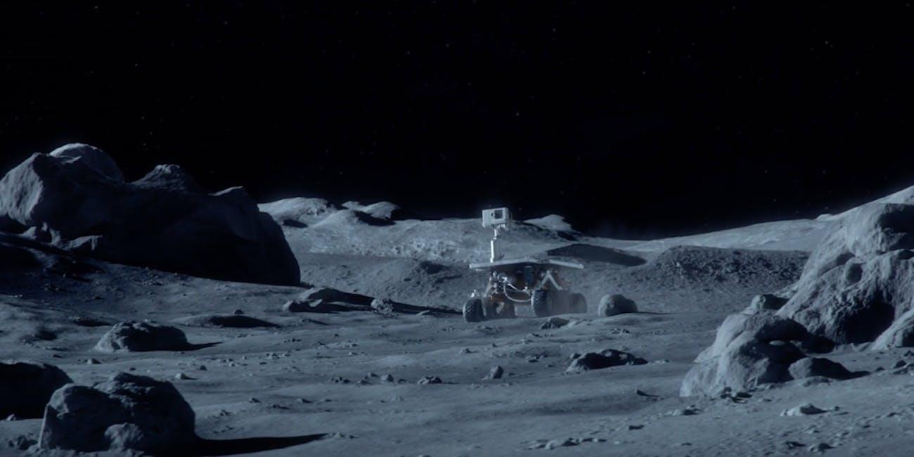 far side of the moon dark lunar space