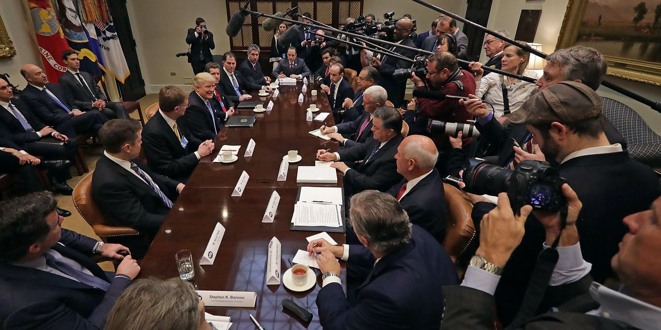donald trump business council
