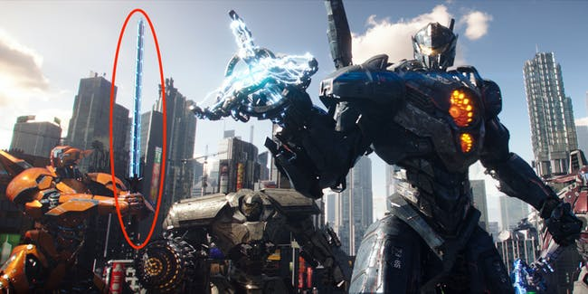 New Jaegers get new weapons in 'Pacific Rim Uprising'.