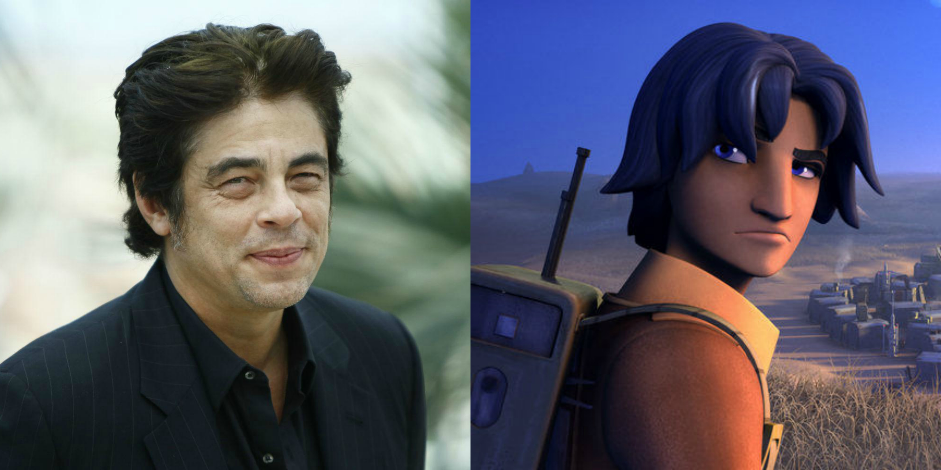 Benicio del Toro is theorized to be playing Ezra Bridger (and Rey's father) in 'Star Wars: The Last Jedi.'