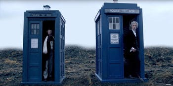 The new TARDIS won't look like either one of these.