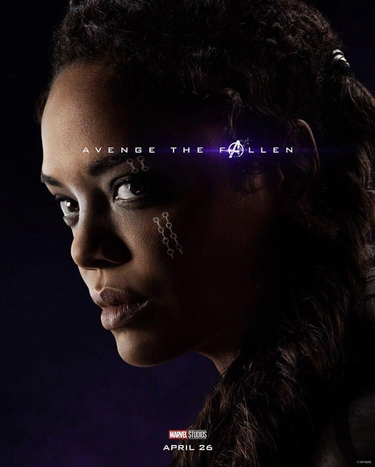 Avengers Endgame Poster Valkyrie